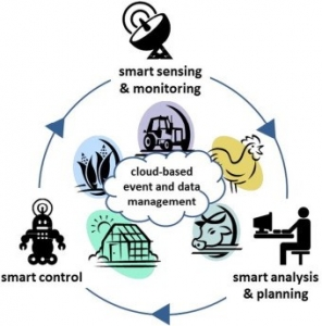 The management cycle of Smart Farming